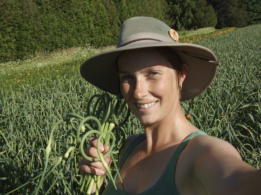Melissa Spearing- the Accidental Garlic Grower