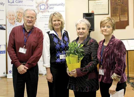 Millbrook Community Care Honours Volunteers