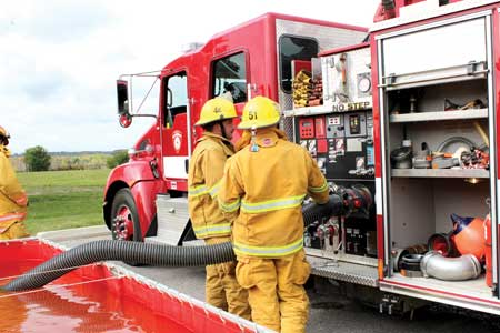 Rising Calls Prompts Firefighter Recruitment