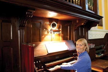 Christmas in the Village Event… Historic Church Organ Inspires Impressive Program