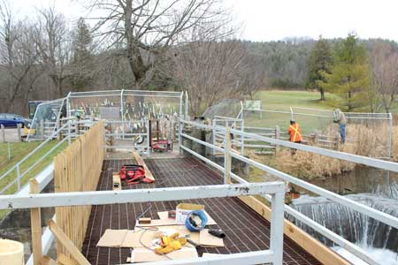 Public Access Being Restored at Millbrook Dam