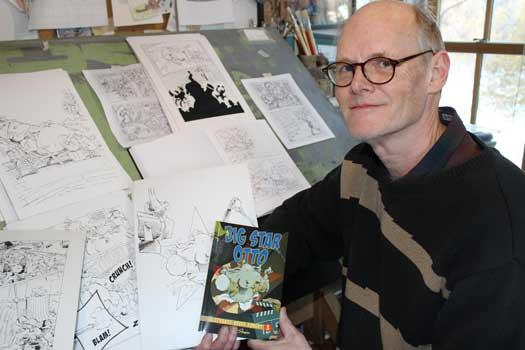 Elephants Never Forget… Bill Slavin Completes Graphic Novel Trilogy