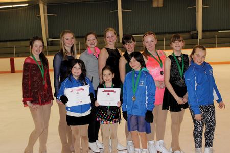 Millbrook Figure Skaters Demonstrate Skills