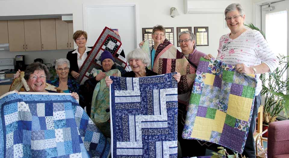 Community Care Honours Volunteer Wilma Bates