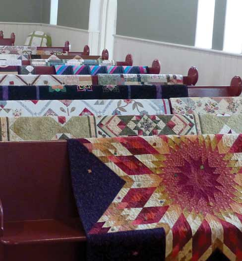 Sharing A Passion For Quilting In The Bethany Area