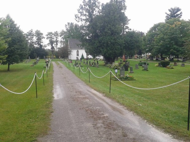 St. Mary's Cemetery on Sunday Sept. 13, Doors Open Discover Historic Sites of Manvers. Photo: Sarah Sobanski.