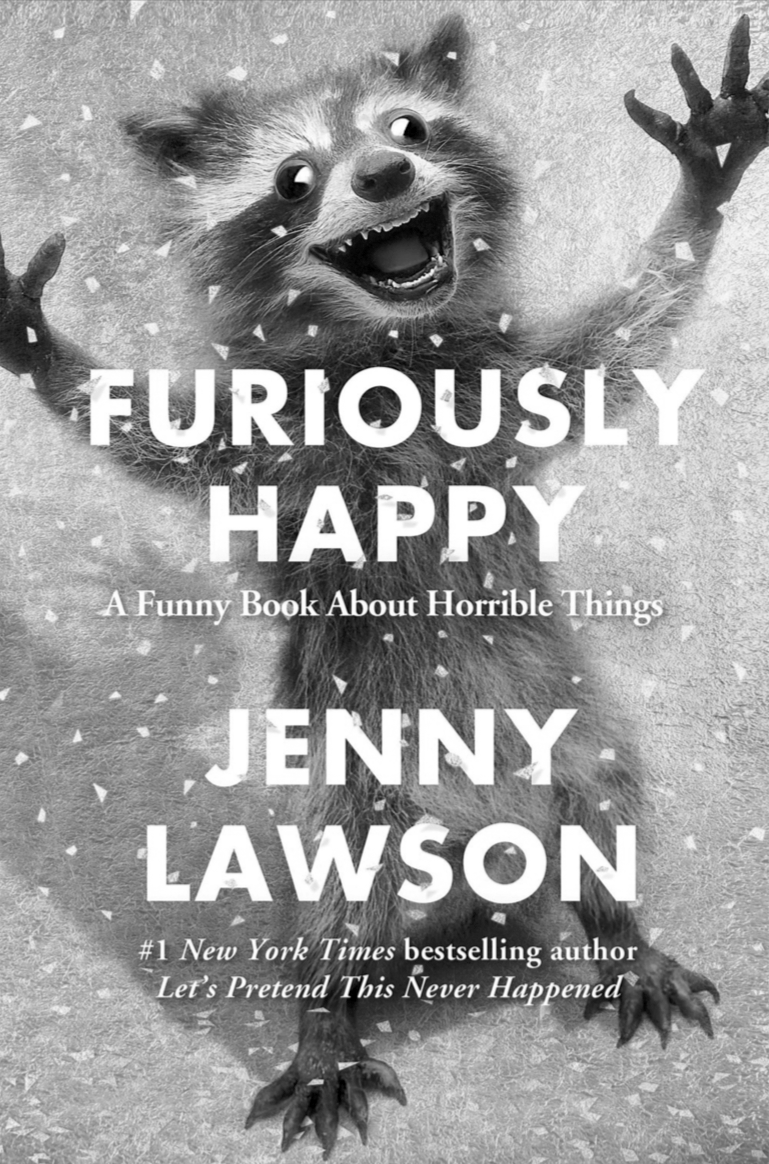 Furiously Happy Book Cover