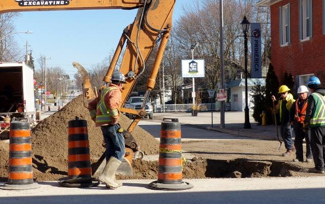 Construction Update – King Street, Millbrook