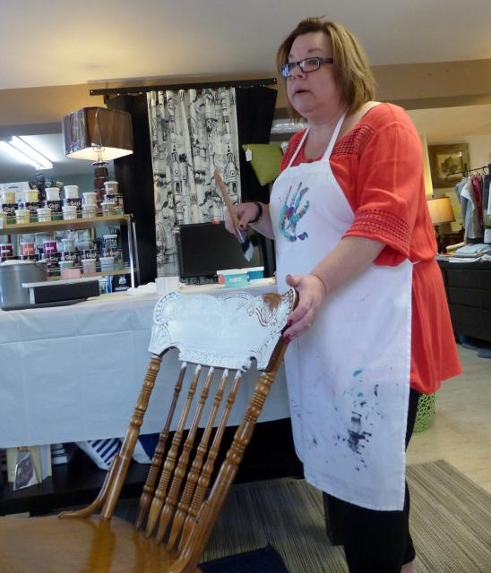 Bear Essentials Hosts Furniture Painting Demo