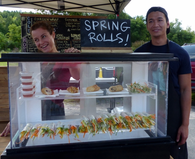 Rollies Brings Asian Inspired Flair to the Millbrook Market Offerings