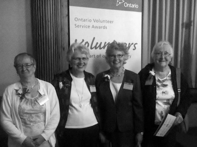 Local Volunteers Recognized