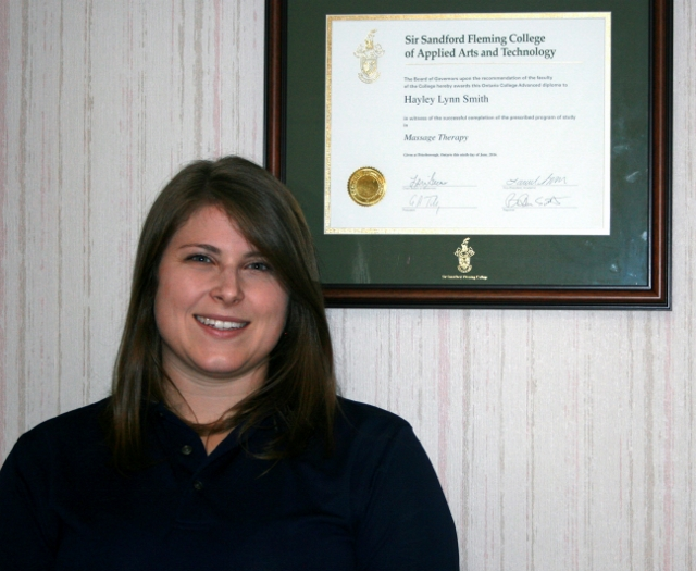 Hayley Smith Joins Family Chiropractic as RMT