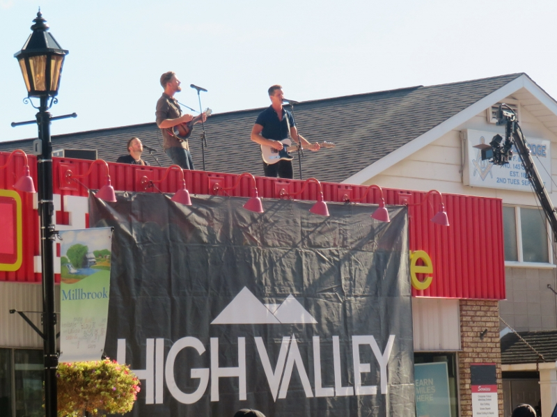 Alberta Band High Valley Music Video in Millbrook