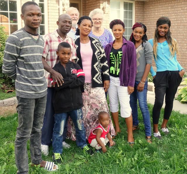 St. John's Anglican Church Welcomes Refugee Family