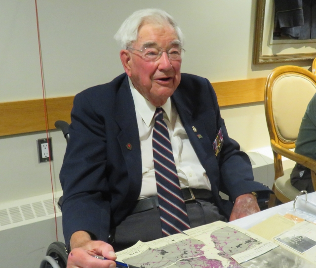 Centennial Place Hosts Video Outlining WWII Wartime Service of Resident Wilf Smith