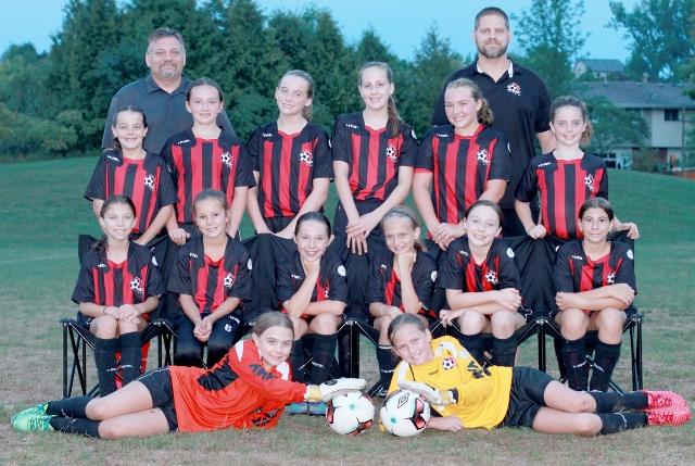 Cavan U11 Girls Rep Team End the Season with Smiles