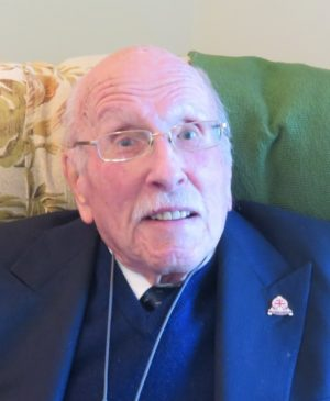 Rev Donald Howson, 102nd birthday