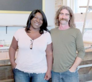 Photo Karen Graham Millbrook Valley Chocolate owners, Jackie and Stephen Flamminio.