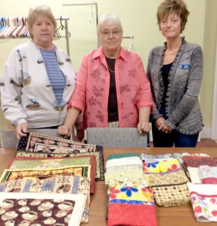 Millbrook Needlers' Donation