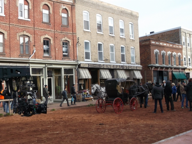 "Film crew arrives in Millbrook for new series, ""Anne"""