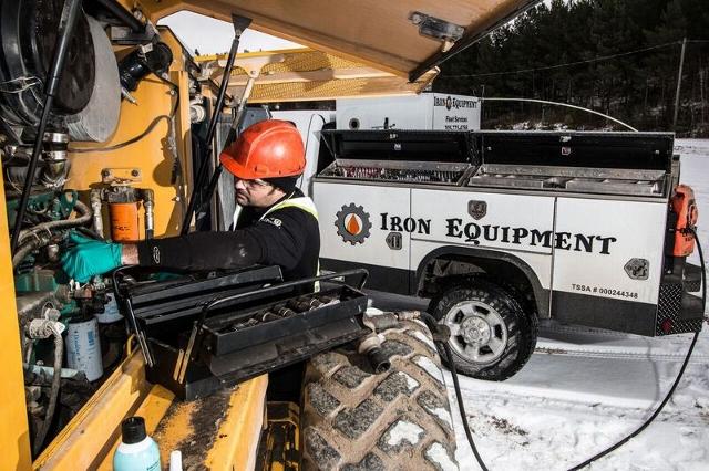 Chamber Corner- Iron Equipment Keeps That Heavy Equipment Moving