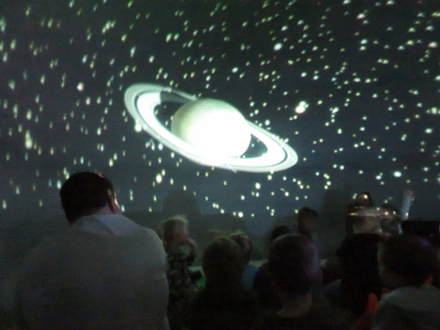 North Cavan Students Tour the Universe from their Gymnasium
