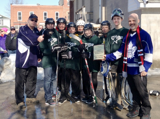 Cavan Monaghan Celebrates Hockey Day in Canada