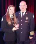 Ontario Fire & Life Safety Educators' Award to Millbrook Resident