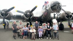 Flying Fortress Week Touched Centennial Place Residents