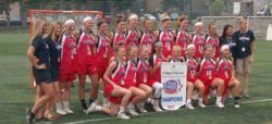 Team Ontario's Field Lacrosse Wins Gold