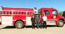 New Pumper Truck delivered!