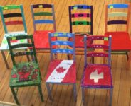 Library hosted fundraiser Chairs for Chairs