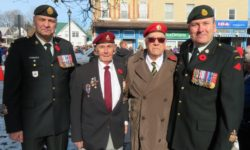 Remembrance Day Services 2017 in Millbrook