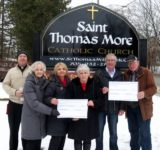 Generous Donations by St Thomas More Parishioners