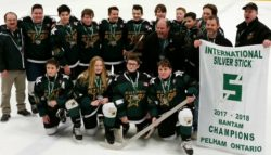 Bantams Bring Home International Silver Stick Trophy