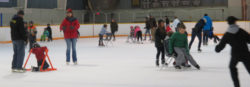 Fun on the ice at the CMCC Family Day Skate