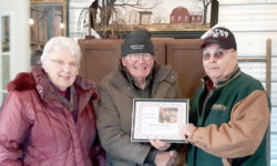 Food Share Appreciation Certificate to Dave Brackenridge