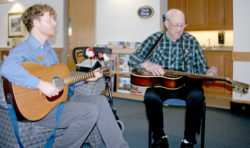 Music Therapy Reaches Residents at a Fundamental Level