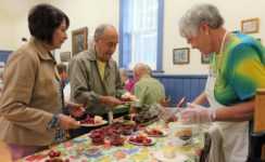Mount Pleasant Women's Institute's Strawberry Supper