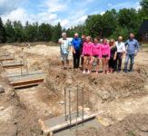 Construction Begins on a New Gymnastics Club