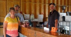 New Winery Provides Opportunity to add Wine to our Locally-Sourced Meal