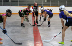 Ladies Keep it Real in Women's Ball Hockey League